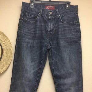 Men's ARIZONA JEAN CO 32x34 Slim Tapered Leg Jeans